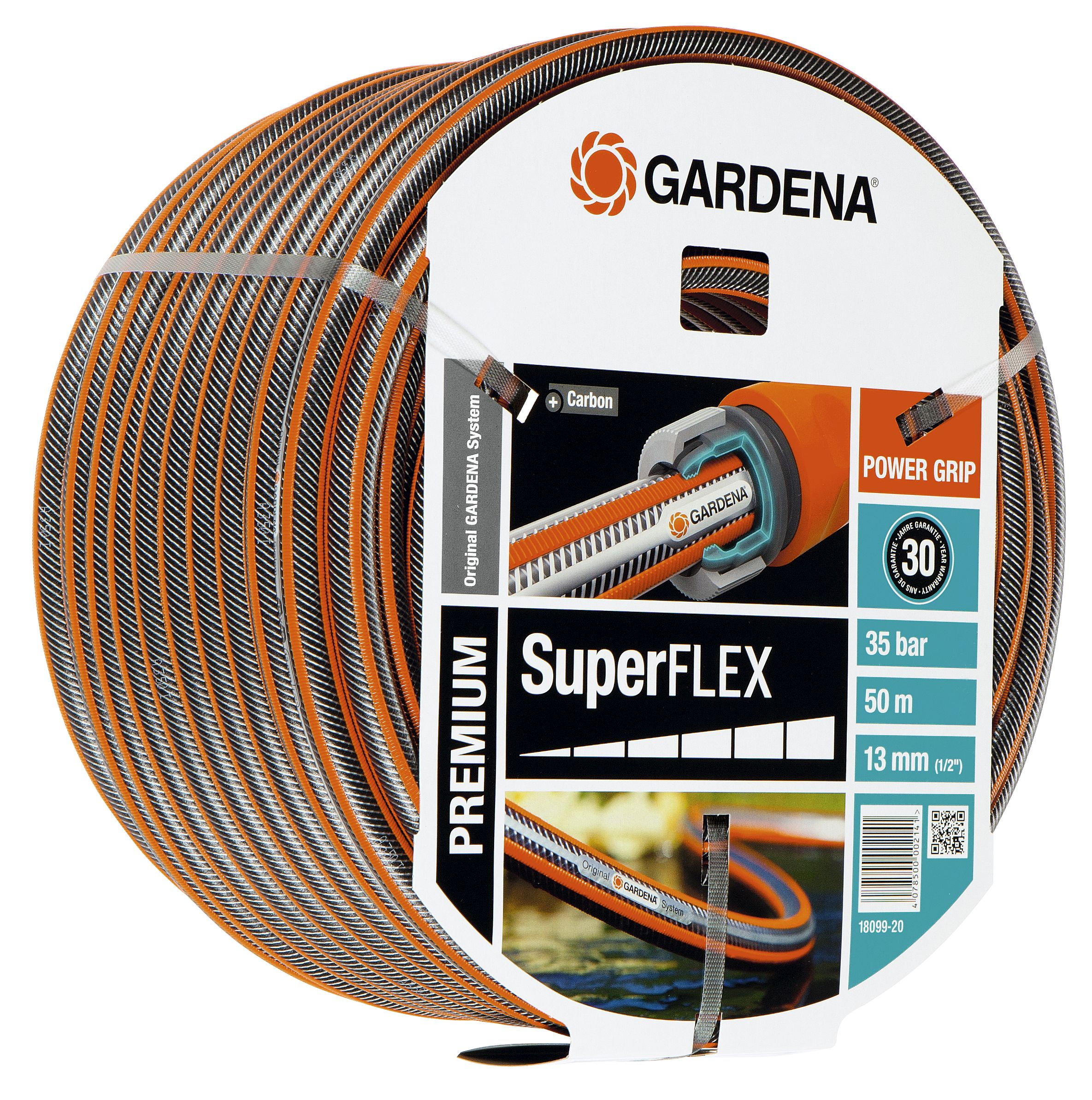 Gardena Comfort Hi Flex Hose 50m 18069 20