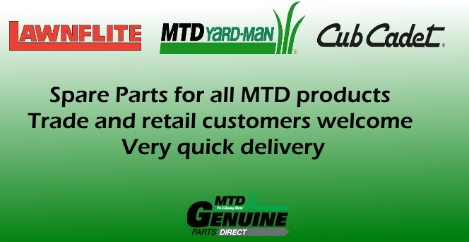 Buy Original Spare Parts for MTD Lawnflite and Cub Cadet