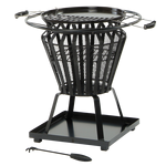 Signa Fire Basket with bbq gril