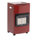 Seasons Warmth LPG Cabinet Heater  Red